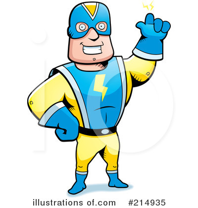 Super Hero Clipart #214935 by Cory Thoman