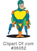 Super Hero Clipart #36052 by Dennis Holmes Designs