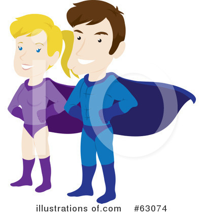 Couple Clipart #63074 by Rosie Piter