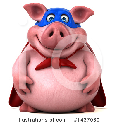 Pig Clipart #1437080 by Julos