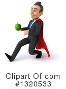 Super White Businessman Clipart #1320533 by Julos