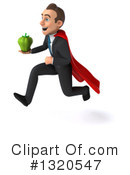 Super White Businessman Clipart #1320547 by Julos