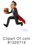 Super White Businessman Clipart #1326718 by Julos