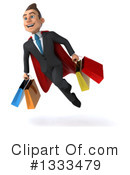 Super White Businessman Clipart #1333479 by Julos