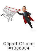 Super White Businessman Clipart #1336904 by Julos