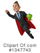 Super White Businessman Clipart #1347743 by Julos