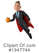 Super White Businessman Clipart #1347744 by Julos