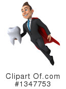 Super White Businessman Clipart #1347753 by Julos