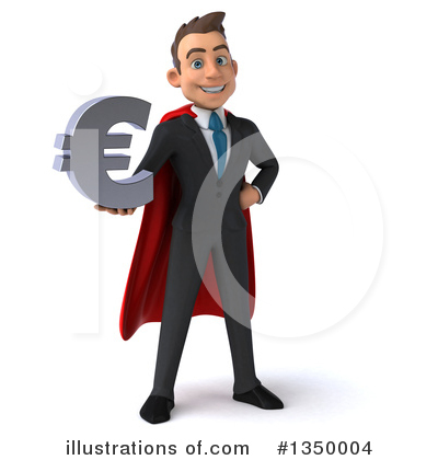 Super White Businessman Clipart #1350004 by Julos