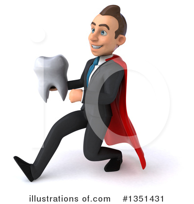 Super White Businessman Clipart #1351431 by Julos