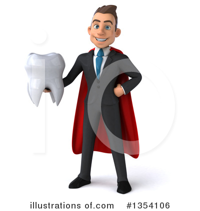 Super White Businessman Clipart #1354106 by Julos