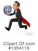 Super White Businessman Clipart #1354119 by Julos