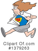 Super Woman Clipart #1379263 by Johnny Sajem