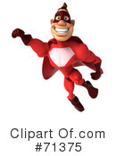 Superhero Character Clipart #71375 by Julos
