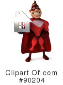 Superhero Character Clipart #90204 by Julos