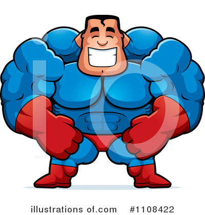 Super Hero Clipart #1108422 by Cory Thoman
