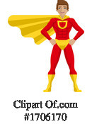 Superhero Clipart #1706170 by AtStockIllustration