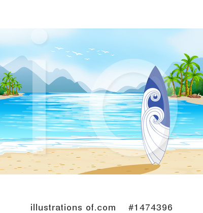 Surfing Clipart #1474396 by Graphics RF