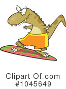 Royalty-Free (RF) Surfer Clipart Illustration #1045649