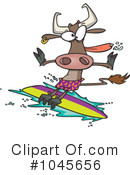 Royalty-Free (RF) Surfer Clipart Illustration #1045656