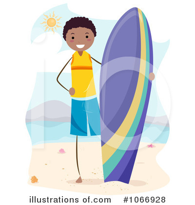 Surfer Clipart #1066928 by BNP Design Studio