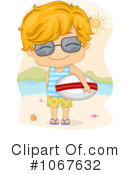 Royalty-Free (RF) Surfer Clipart Illustration #1067632