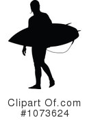 Royalty-Free (RF) Surfer Clipart Illustration #1073624