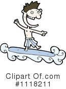 Royalty-Free (RF) Surfer Clipart Illustration #1118211