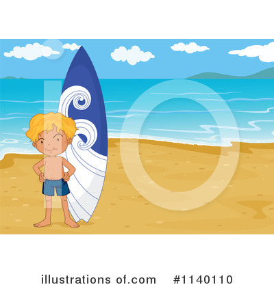 Surfer Clipart #1140110 by Graphics RF