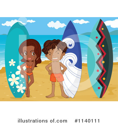 Surfer Clipart #1140111 by Graphics RF