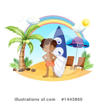 Surfer Clipart #1443860 by Graphics RF