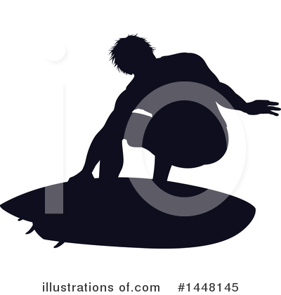 Surfer Clipart #1448145 by AtStockIllustration