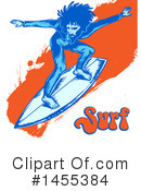 Royalty-Free (RF) Surfer Clipart Illustration #1455384
