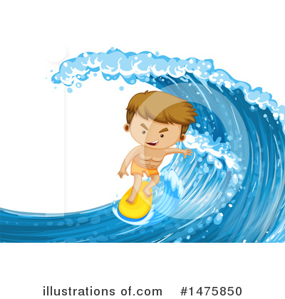 Surfer Clipart #1475850 by Graphics RF