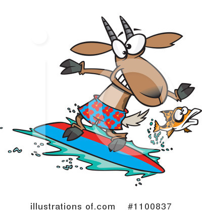 Surfer Clipart #1100837 by toonaday