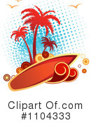 Royalty-Free (RF) Surfing Clipart Illustration #1104333