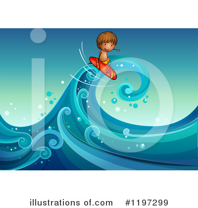 Waves Clipart #1197299 by Graphics RF