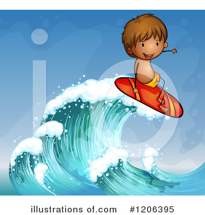 Waves Clipart #1206395 by Graphics RF