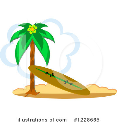 Royalty-Free (RF) Surfing Clipart Illustration by bpearth - Stock Sample #1228665