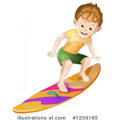 Surfing Clipart #1259185 by merlinul