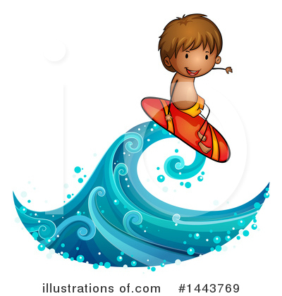 Surfer Clipart #1443769 by Graphics RF