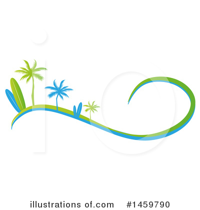 Surfing Clipart #1459790 by Domenico Condello