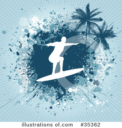 Surfer Clipart #35362 by KJ Pargeter