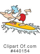 Royalty-Free (RF) surfing Clipart Illustration #440154