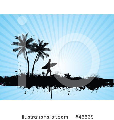 Surfer Clipart #46639 by KJ Pargeter