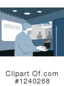 Surgeon Clipart #1240268 by David Rey