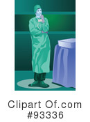 Royalty-Free (RF) Surgeon Clipart Illustration #93336