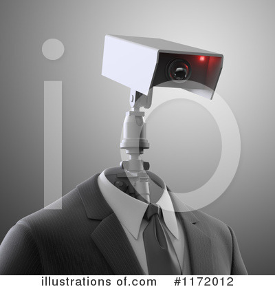 Robot Clipart #1172012 by Mopic