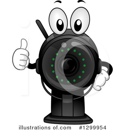Camera Clipart #1299954 by BNP Design Studio