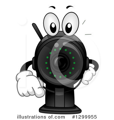 Camera Clipart #1299955 by BNP Design Studio